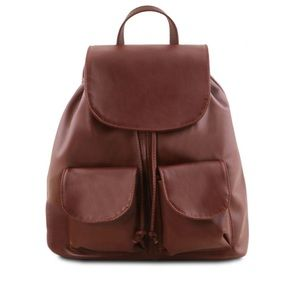 Tuscany Leather Seoul Leather Backpack